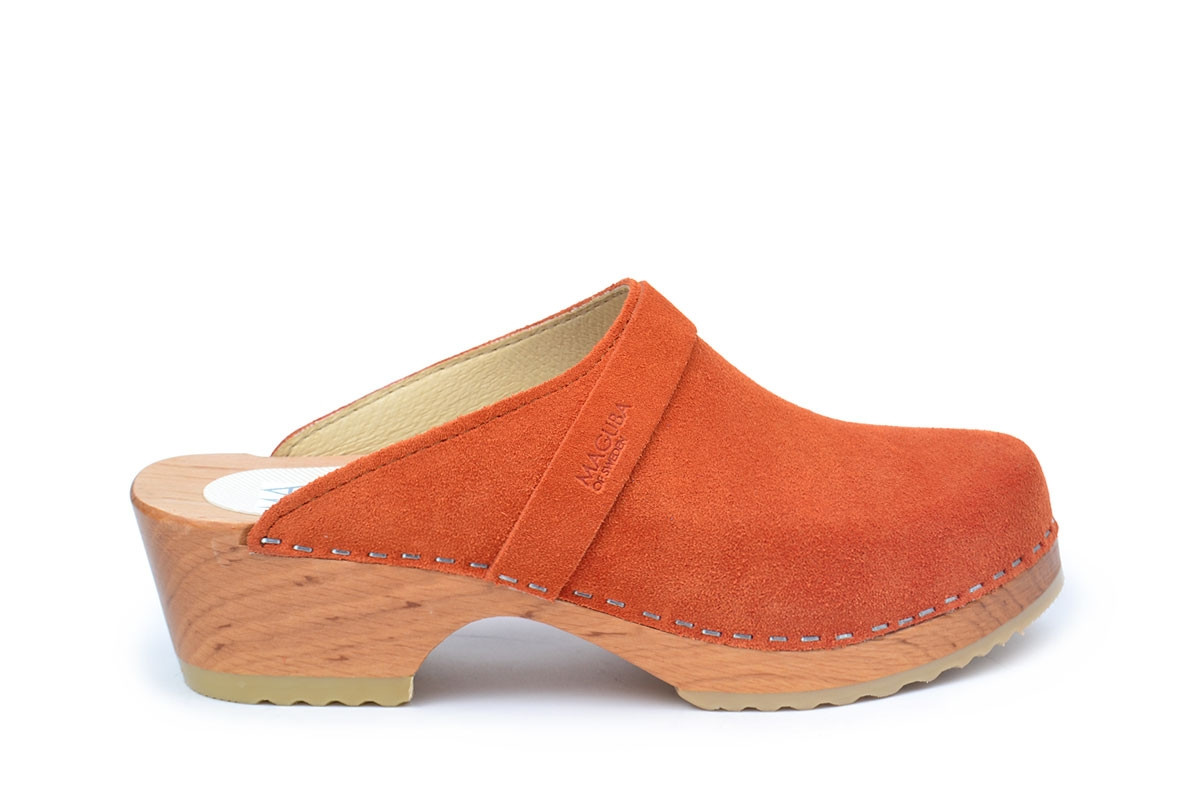 Berkeley Burn Orange Suede