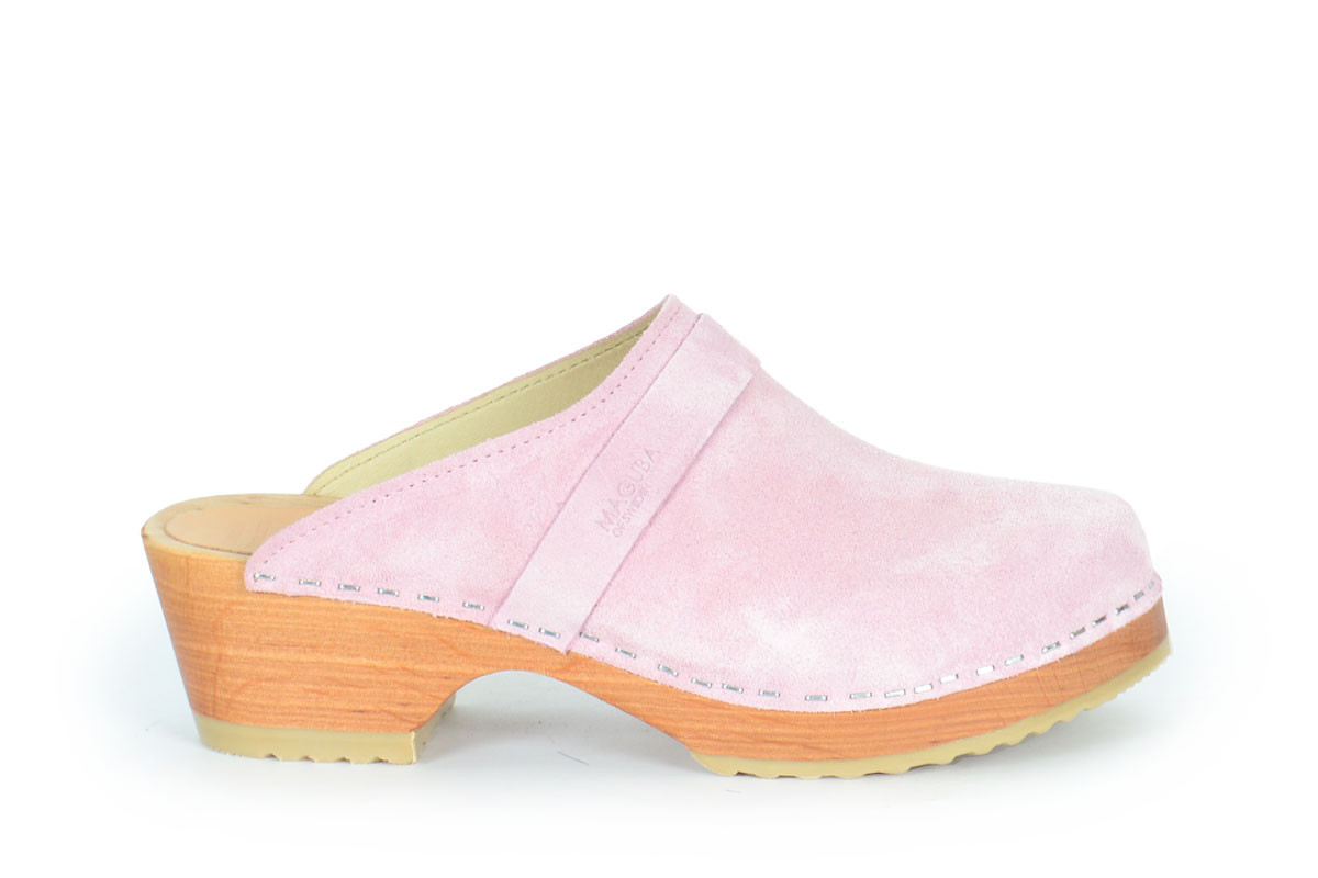 Berkeley Powder Pink Suede