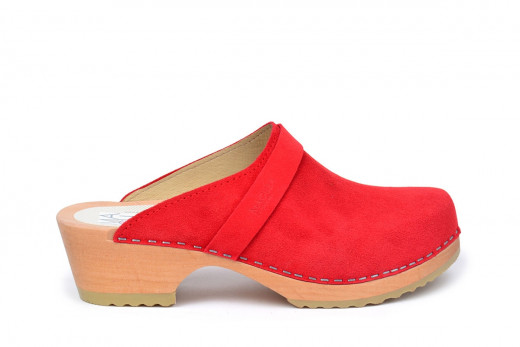 Berkeley Red Suede